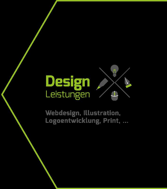 Designleistungen: von Webdesign bis Print